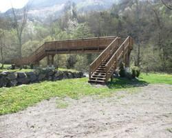 VISION BOIS - Lafox - Pontons - Passerelles - Belvédère - Etsaut