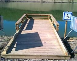 VISION BOIS - Lafox - Pontons - Passerelles - Belvédère - Lac de Talive
